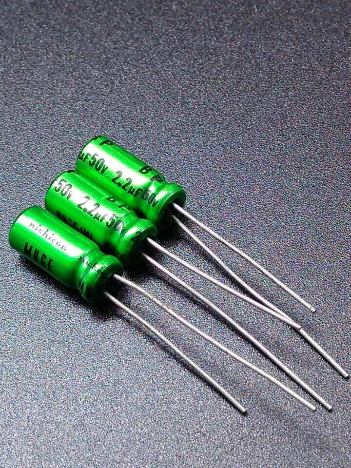 10pcs/30pcs Imported Nichicon MUSE ES BP 2.2uF/50V genuine green Promise electrolytic capacitor 2.2uf50 free shipping10pcs/30pcs Imported Nichicon MUSE ES BP 2.2uF/50V genuine green Promise electrolytic capacitor 2.2uf50 free shipping