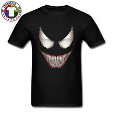Hot Sale Venom Tee Shirt 3D Full Print Cool Marvel T Shirts Men Face Superhero Tshirt Best Gift High Quality Sleeved