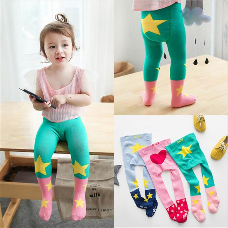 b1a65ce015f42 Detail Feedback Questions about YWHUANSEN Cute Cartoon Star Baby Kid Tight  Heart Children Tights for Girls Boy Baby Girl Tights Popular Toddlers Child  ...