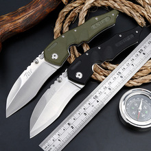 Ganzo G10 handle folding knife, wild survival multi-purpose hunting knife, self-defense folding knife outdoor knife