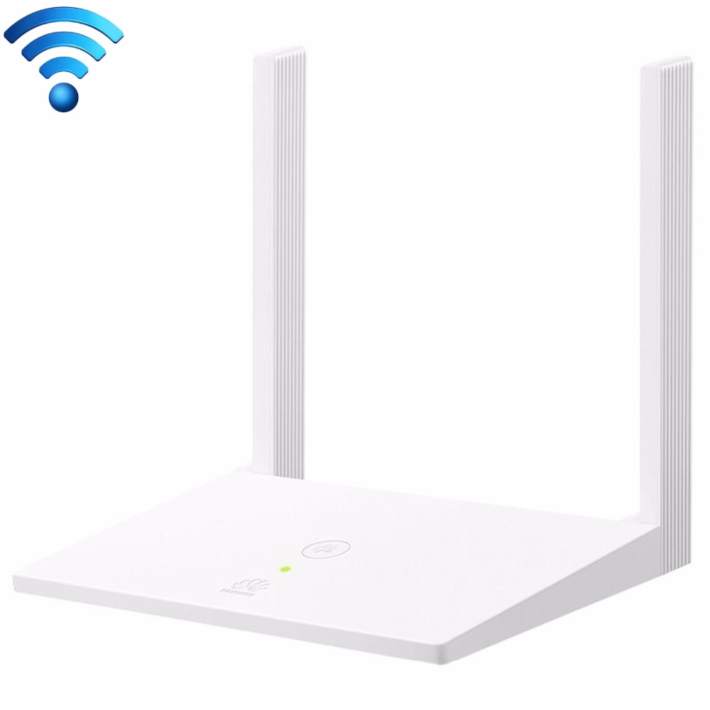 Original Huawei WS318 (Enhanced Version) 300Mbps 2.4GHz Wireless Router WiFi Repeater with 2 Antennas