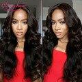 Норки бразильские волосы девственницы объемной волны 4 связки 7а необработанные девственные волосы бразильский объемная волна девственные волосы переплетения человеческих волос