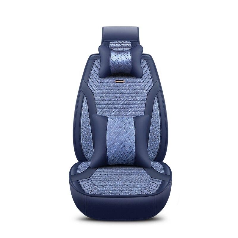 2018 новый лен универсальные чехлы сидений автомобиля 5 авто Подушки отлично сидят стены все модели C30 HAVAL H3 парение H5 wingle Greatwall H2 H6