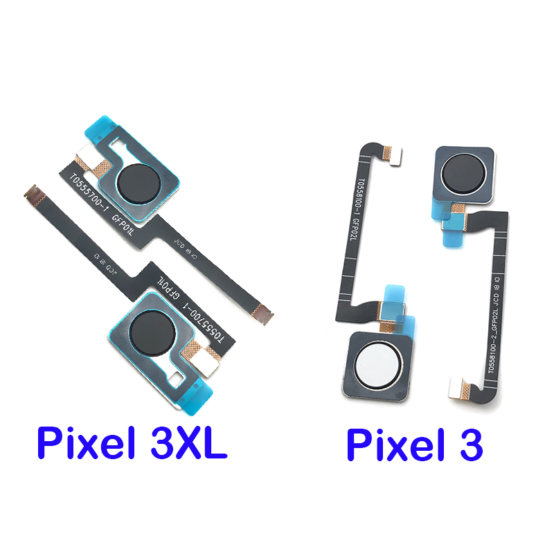 Automobiles 3xl Home Button Fingerprint Menu Return Key Recognition Sensor Flex Cable Ribbon High Quality Goods 10pcs/lot,for Google Pixel 3