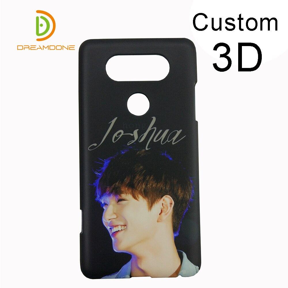 custom 3D Plastic phone cases for LG X Power Ray nexus 5x