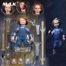 4 Ultimate Chucky Doll Child's Play Good Guys Action Figure PVC With original box майка print bar good guys