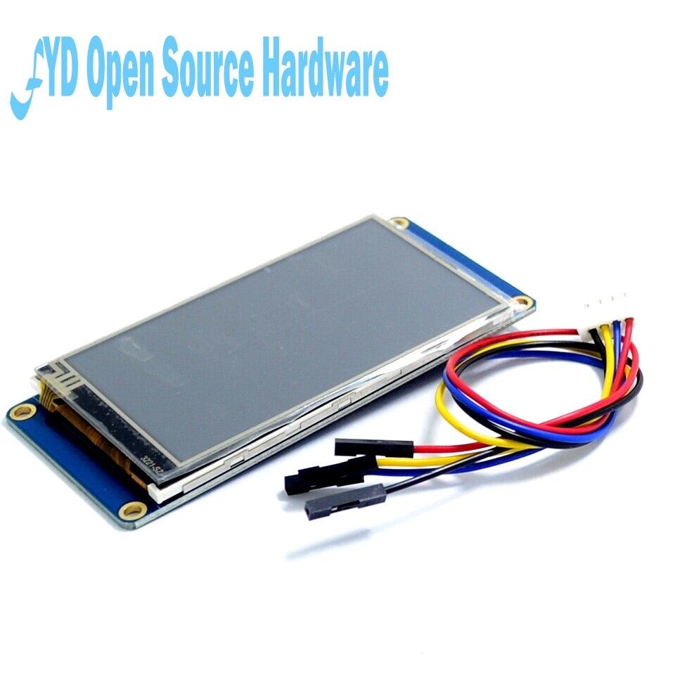 Nextion 5 pouces Direct usine HMI TFT écran tactile LCD Module d'affichage Interface homme-machine HMI noyau en anglais USART UART