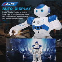 JJRC R2 RC Robot Gesture Sensor Singing Dancing Display Intelligent Programming Candy Action Figure Remote Best Toys for Kids