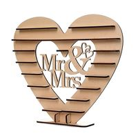 HOT SALE Mr Mrs Chocolate Heart Tree Wedding Display Stand Centrepiece