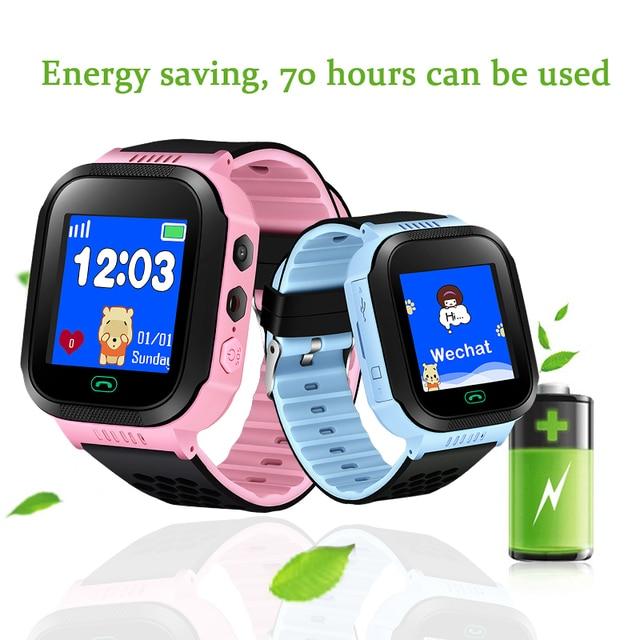 BANWEI 2018 Hot Smart watch Children Kid Wristwatch GSM GPRS GPS Locator Tracker
