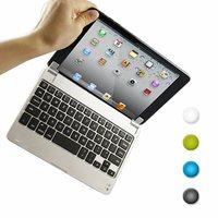 For IPAD MINI 1 2 3 Bluetooth Keyboard Slim Aluminum Bluetooth Keyboard Case Cover For Apple