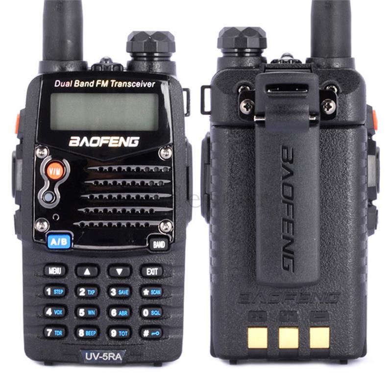2019 Baofeng UV 5RA Walkie Talkie UV5RA Two Way Radio Dual Band VHF UHF 136 174