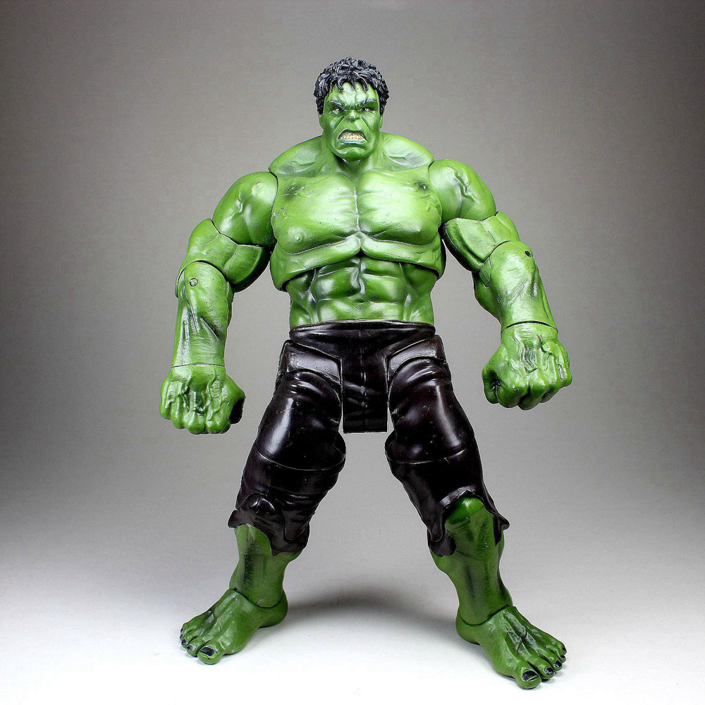 RARE Incredible Hulk Action Figure Toy Marvel Avengers Model Doll 10/'/' Xmas Gift