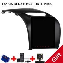 10,4 «Тесла Тип Android Fit кіа CERATO/K3/Форте 2013 2014 2015 автомобильный DVD плеер навигация GPS радио