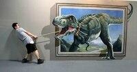 תמונות קיר סלון ציור שמן בעלי החיים 3D ציור שמן אמנות ציור מודרני ציור סיטונאי למכירה לא הפליל