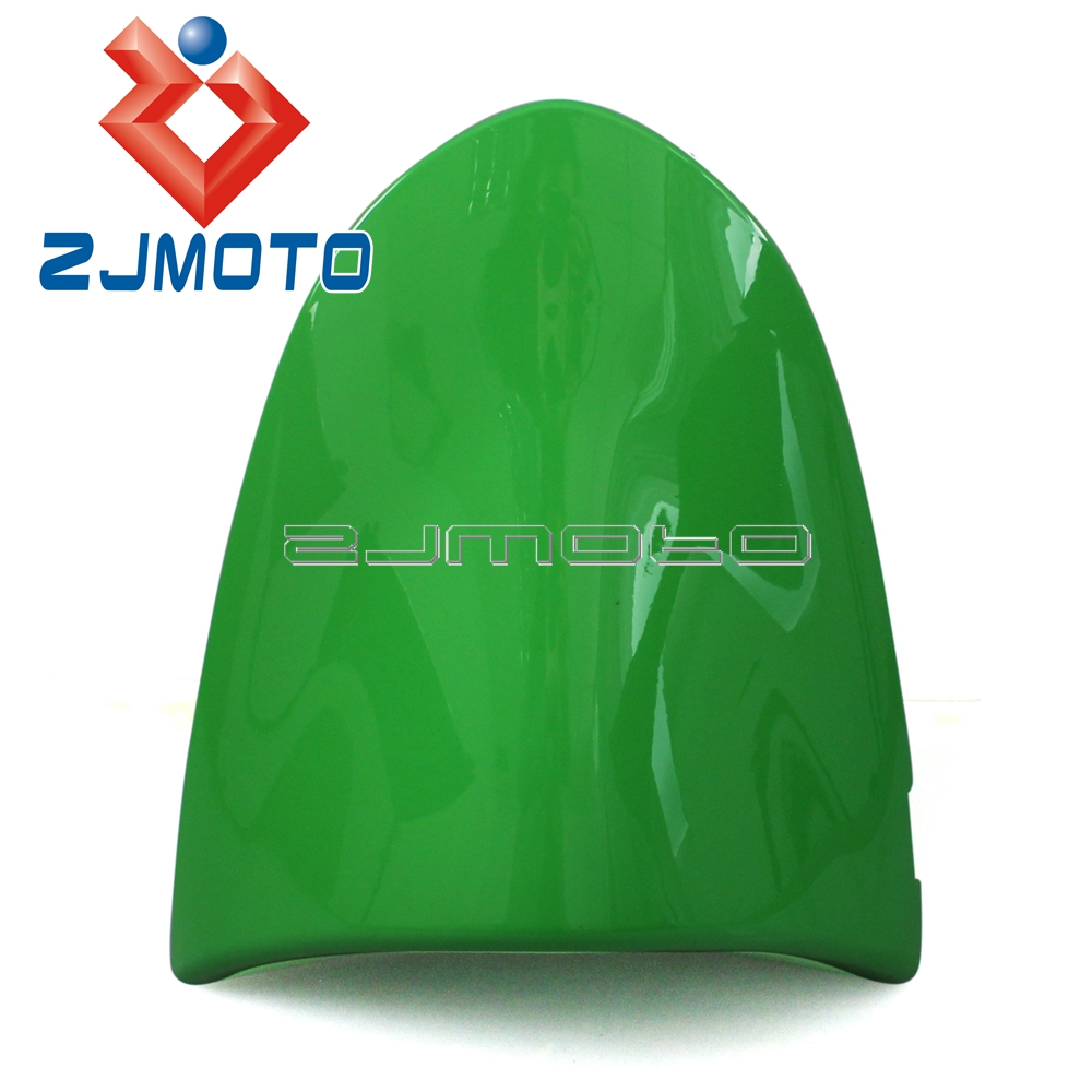 Motorcycle Rear Seat Cover Cowl Fairing Green For Kawasaki ZX6R 05 06 ZX10R 06 07 Rear Seat Cover Cowl