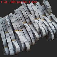 200 шт. белый одежда с высоким воротом из полиэстера в таблице размеров указаны для рубашка большие размеры 34, 35, 36, 37, 38, Размеры 39-40 41, 42, 43 44 45, 46, 47 48 50 52 54 56 58 60