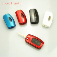 New ABS Paint Car Key Protection Cover Key Protect Trim Covers For Ford Focus 2 MK2