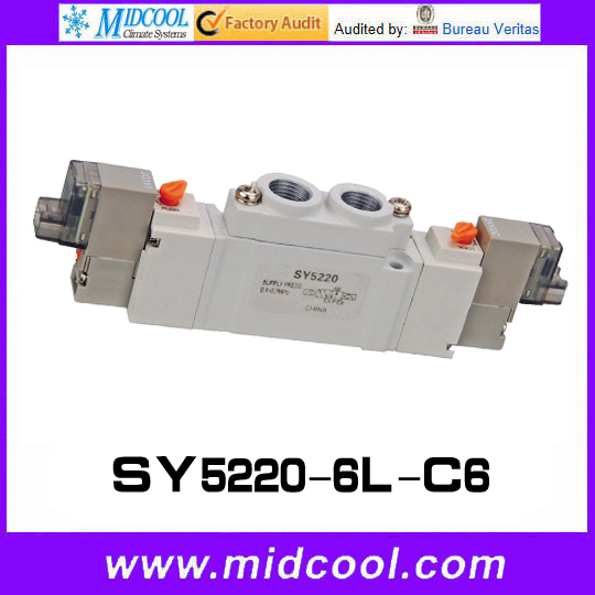5 way pilot solenoid valve SY5220-6L-C6 new remote key fob 3 button 433mhz id83 for mazda cx 5 ske13e 01 uncut blade