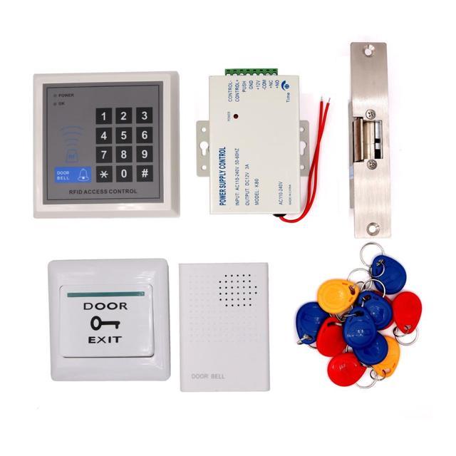 125khz Proximity Card Rfid Card Key Fob Entry System Door Gate