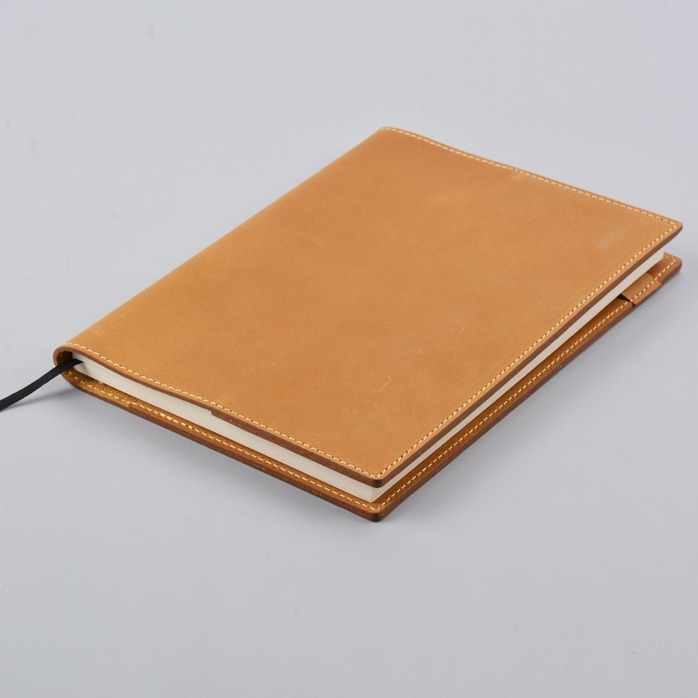 Handnote 100% Genuine Leather Notebook Protective Cover A5 B6 A6 Size Diary Journal Vintage Cowhide Handmade Sketchbook Planner ootdty vintage classic journal notebook diary sketchbook thick blank page leather cover 1 pcs