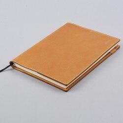 Handnote Notebook In Pelle Vintage Planner Coprilibro A5 A6 Per MD Hobonichi Cugino Originale Proiettile Ufficiale Disegno Sketchbook