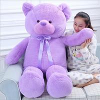 Hot Sale Lavender Teddy Bear Plush Toy Purple Hug Bear Stuffed Animal Valentine's Day Gifts
