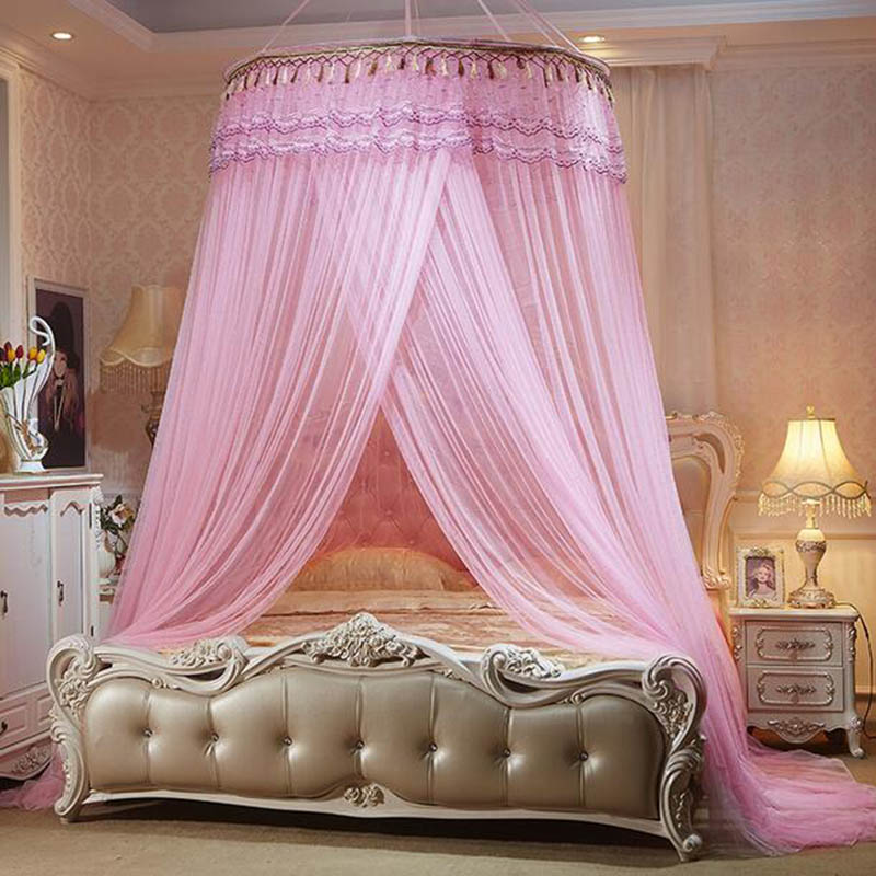 Palace klamboe romantic mosquito nets bed canopy adults - Canopy bed ideas for adults ...