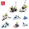 JIE-STAR Межзвездная Разведка Строительные Блоки Игрушки для Детей Мелкие Частицы Блоки Игрушки Лучший Рождественский Подарок для Мальчиков