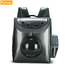 Petshy Space Capsule Astronaut Pet Cat Backpack Bubble Window for Dog Kitty Puppy Small Dogs Carrier Crate Outdoor Travel Bag