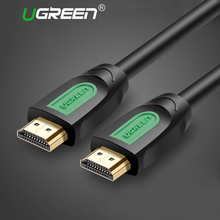 Ugreen HDMI Cable 3D 4K 1080P HDMI to HDMI 5m 10m 3m 2m 1m 3D 4K HDMI 2.0 for Projector LCD TV PS3 Laptop Computer Cable