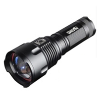 HHTL WARSUN Tacticsal Flashlight LED T6 1000 Lumens AA Rechargeable Battery 26650 Zoomable Portable Waterproof Hunting