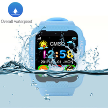 K3 Children Good Watch Waterproof Kids Watch Actual Time Safety Tracker GPS AGPS LBS Anti-Misplaced Child Smartwatch with Digicam