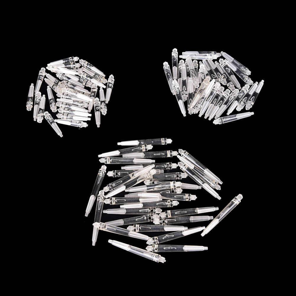 30 шт 27/35/45 мм прозрачный кристалл Цвет нейлоновые материалы Дротика стержни Дротика аксессуар