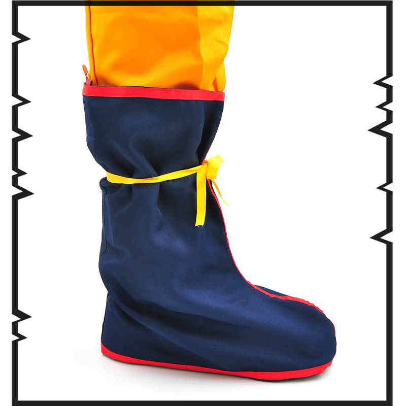 Dragon Ball Super Goku Cosplay Shoes Boots Super Saiyan Blue Shoe Covers Anime Men Adult Women Shoes euro size high quality