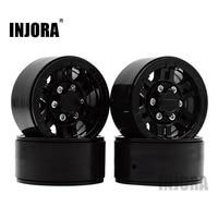 4PCS High Quality Plastic 1.9 Inch Beadlock Wheel Rim for 1:10 RC Crawler Axial SCX10 TAMIYA CC01 D90 D110 Wheel Hub