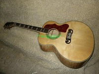 New Arrival Natural 200 Acoustic Guitar Wholesale Guitars High Quality Free Shipping