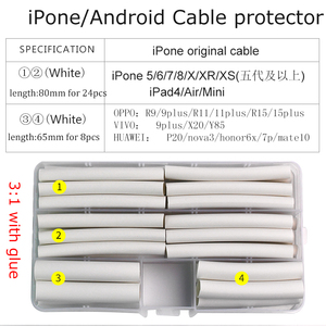 32PCS for iphone Cable protect
