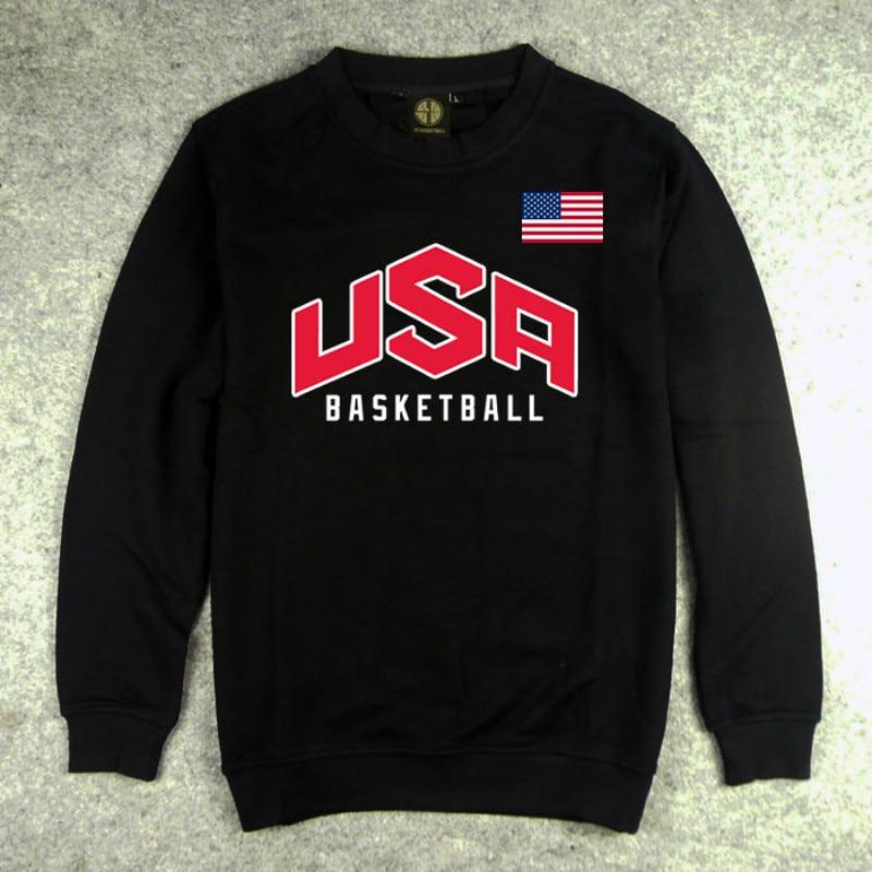 Heren Pullover VS basketbal Dream Team Sweatshirt Hoodie Effen Kleur - Herenkleding - Foto 3