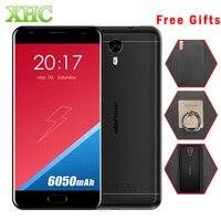 Ulefone Potenza 2 64 GB 6050 mah Del Telefono Mobile Anteriore di Impronte Digitali 5.5 pollici Android 7.0 MTK6750T Octa-core 1.5 GHz RAM 4 GB 1920x1080