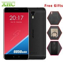 Ulefone Мощность 2 64 ГБ 6050 мАч Мобильный Телефон Передняя Отпечатков Пальцев 5.5 7-дюймовый Android 7.0 MTK6750T Octa-core 1.5 ГГц RAM 4 ГБ 1920×1080