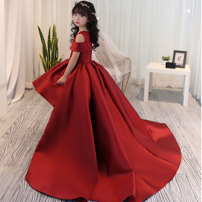 Girls <font><b>Dress</b></font> Kids Formal Wear Princess <font><b>Dress</b></font> Girls Clothes Baby Wedding <font><b>Party</b></font> <font><b>Dresses</b></font> Size Age 4 5 6 7 8 9 12 <font><b>13</b></font> 14 <font><b>Years</b></font> <font><b>Old</b></font> image