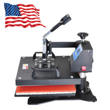 Sale 8 in1 Heat Press Machine Digital T-Shirt Mug Hat Plate Cap Transfer Sublimation Model