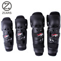 Wholesale 1Set  ABS Motorcycle Knee And Elbow Protector Motocross Equipment Knee Guard Motorcycle Knee Pads Protective Gears