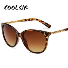 COOLSIR Oversized Sunglasses Women Luxury Brand Shades Sun Glasses Female Vintage Big Frame Sunglass Hollow