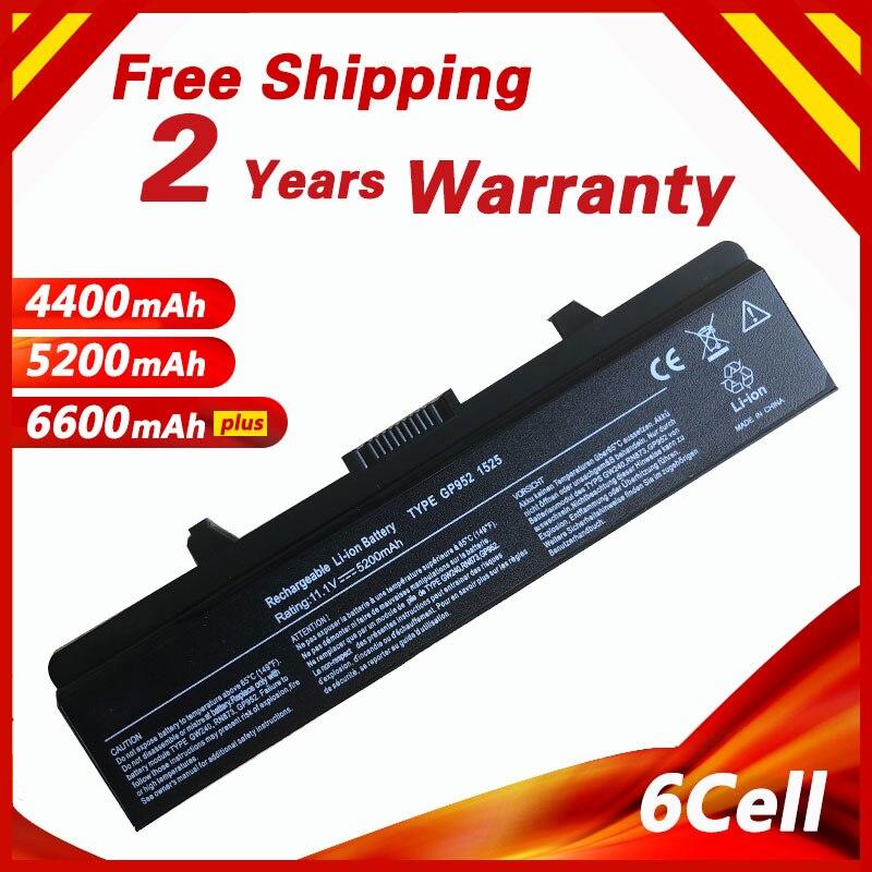 Golooloo 6 bateria do portátil celular para DELL Inspiron 1525 1526 1545 1546 Vostro 500 CR693 GW240 GW241 GW252 HP277 HP297 PP29L M873