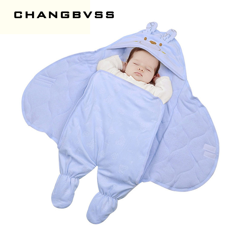 Warm Baby Sleeping Bag 75*75 Cm Newborn Swaddle Blanket Winter Baby Sleep Sacks Saco De Dormir Envelopes For Newborns Stroller