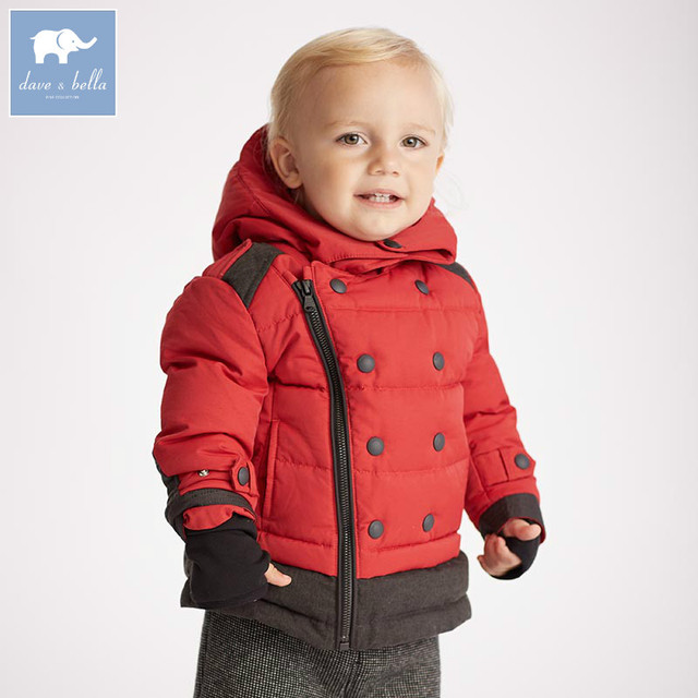 9792b7572 DB5638 dave bella winter baby boys down jacket children white duck ...