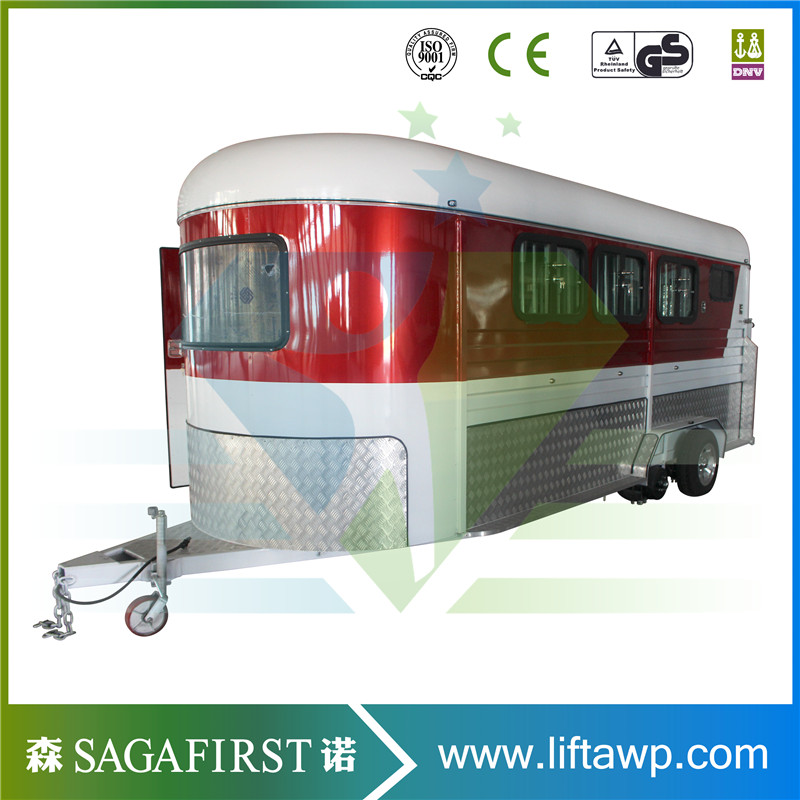 2018 Farm Transport Horse Trailer Float 2 Horse Straight Load Angle Load Trailer