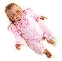 DOLLMAI Новый 52 см силиконовые детские Кукла реборн мягкие Bebe Reborn младенцев мягкие игровой дом игрушки для девочек игрушки RDK 50